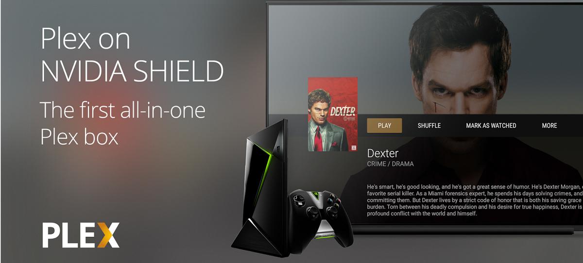 Nvidia Shield as a Plex Server